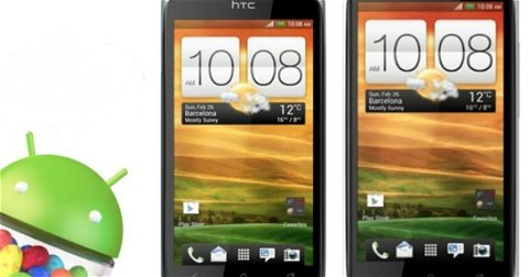 Android 4.1 Jelly Bean empieza a llegar a los HTC One S europeos