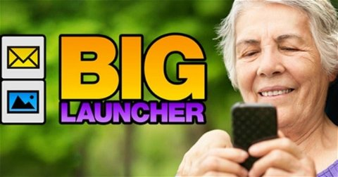 BIG Launcher: Android para personas mayores