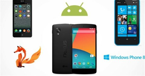 Android 4.4 KitKat apunta a Firefox OS y Windows Phone